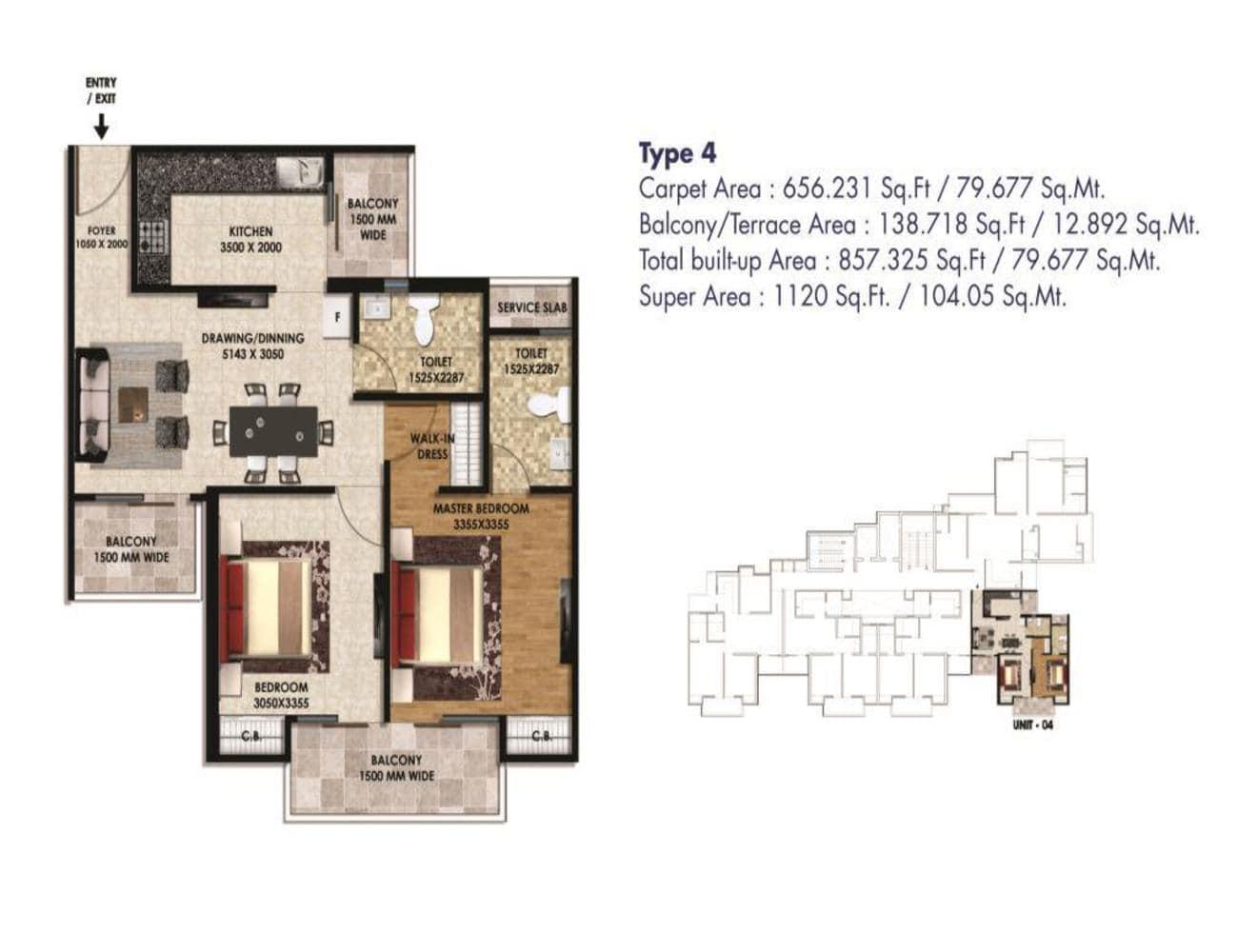 Hi Castle-1120-sq.ft