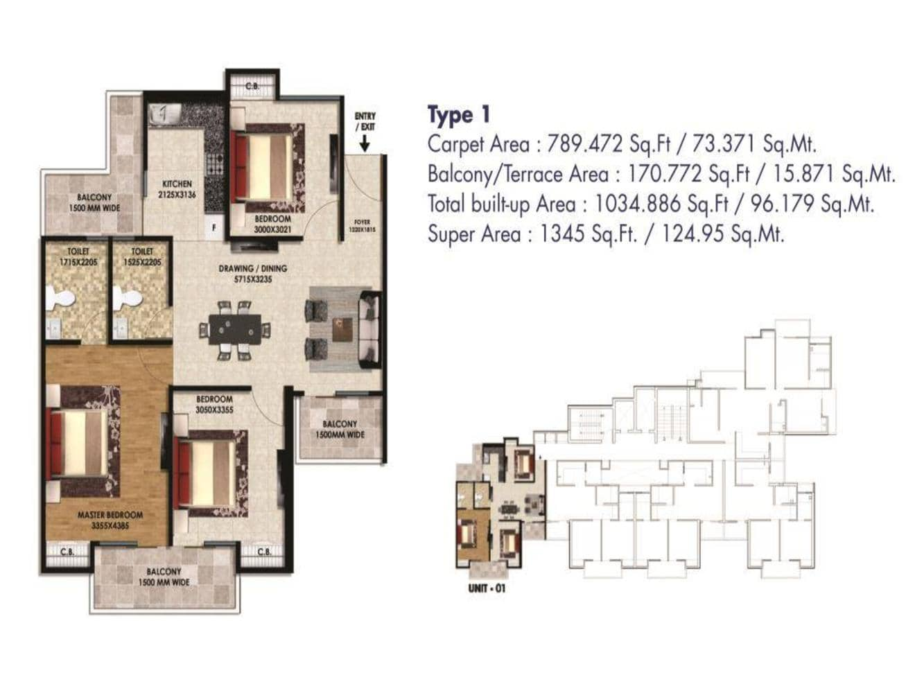 Hi Castle-1345-sq.ft